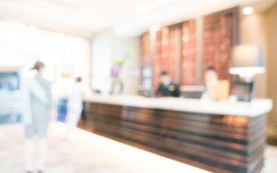 Entrada y registro en habitación de hotel, hostal o pensión y en habitación alquilada de piso compartido.